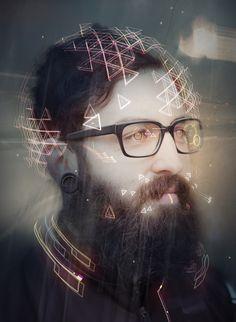 Us by Stephen Chang Concept Artist, via Behance Digital Light, Digital Art, Harrison Ford, Blade Runner, Future Soldier, Computer Art, Fiction, Shadowrun, Science Art
