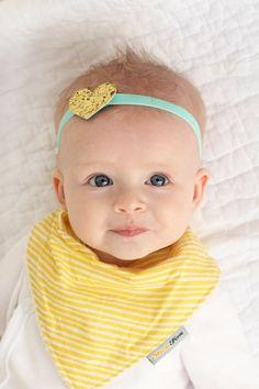 Baby Bandana Bib Dribble Bib Baby Bibs Organic Cotton by SlickFox