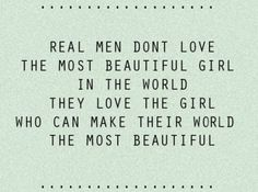 While I believe this is true for both genders, I agree with the sentiment.
