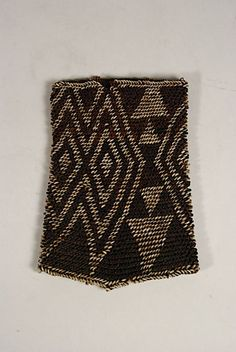 New Hebrides Woven Shell Armband Aboriginal People, Coral Print, Drawing Practice, Vanuatu, South Pacific, Writing A Book, Textile Art, Herringbone, Shells