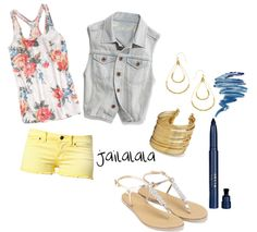 """""""Boardwalk Outfit"""" by jailalala on Polyvore"""