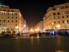 THESSALONIKI Cultural Capital, Thessaloniki, Macedonia, Beautiful Scenery, Ancient Greek, Places To Visit, Around The Worlds, Street View, Europe
