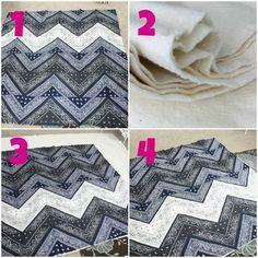 chevron bandana quilt tutorial