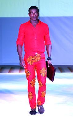 2012 Ghana Fashion & Design Week -Orange Culture