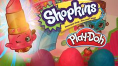 SHOPKINS SURPRISE | Play Doh Egg Opening Toys