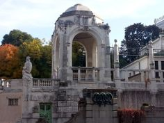Stadtpark (City Park) Vienna U-Bahn, the station was built in 1897 by Otto Wagner for the Stadtbahn (City rail)