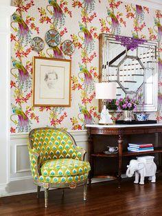 Nina Campbell Paradiso wallpaper by Osborne & Little | Parker Kennedy Living