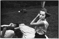 """""""Bruce Davidson's 1959 project, Brooklyn Gang, is an intimate photographic study of a rebellious Brooklyn teenage gang, who called themselves The Jokers. Not only is Davidson's work a sincere portr…"""