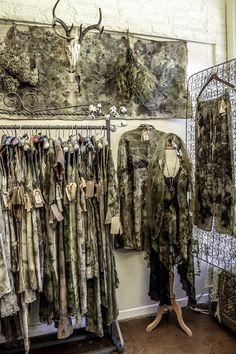 Eco Print Designs @ Vintage Moon Modern www.VintagemoonAsheville.com