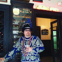 #frenchquarter #neworleans #Louisiana #NOLA #mardigras #costume Roz! My awesome host! Thank u Roz and @empainton by kittenonthekeys