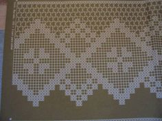 Lovely #crochet #boarder