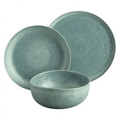 31 x 31 x 35 cm Stone Blue Fairmont /& Main Vie Naturelle Dinnerware Set