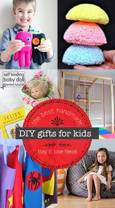 Great DIY gifts for kids