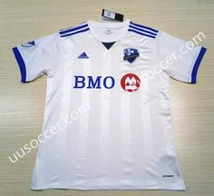 2017-18 Montreal Impact  White Thailand Soccer Jersey AAA