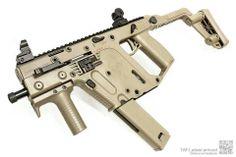 KRISS VECTOR: super steady. 45 ACP sub-machine gun //