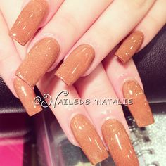 The perfect SQUARE. All time classic shape, long and square acrylic nails