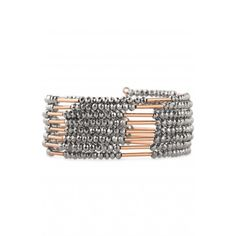 Stella & Dot Sparkly Bardot Spiral Bangle. I love these wrap bracelets, I have one in silver and it's such a great piece!