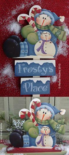 #608 Frosty's Place (PATTERN PACKET)