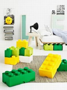 Lego are and will be the most popular toys for the kids. There is no person in the world that doesn't like lego toys. Lego is a popular line of Lego Storage Boxes, Lego Storage Brick, Lego Brick, Lego Boxes, Storage Containers, Storage Ideas, Kids Storage, Plastic Storage, Small Storage