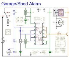 Automatic ups system wiring circuit diagram for home or office new image result for transistor alarm circuits for beginners asfbconference2016 Images