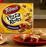 Totino's Pizza Roll: cook  on the George Forman grill to crisp them up. Soggy microwave pizza rolls are not happenin.