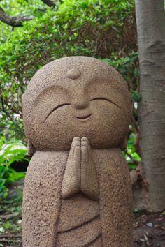 Stone statue(guardian deity of children)