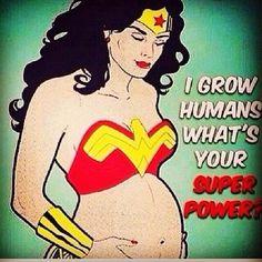 Pregnant Wonder Woman