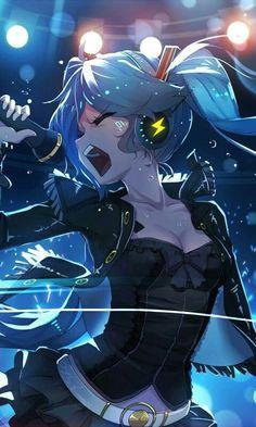 Anime Art Manga Hatsune Miku Ideas For 2019 Anime Girls, Kawaii Anime Girl, Manga Girl, Anime Art Girl, Vocaloid, Sweet Pictures, Estilo Anime, Image Manga, I Love Anime