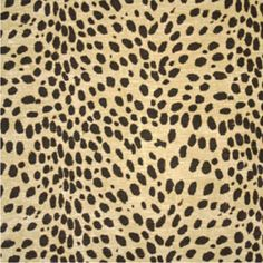 Leopard Fabric, Wallpaper | Clarence House
