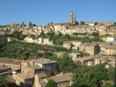 Montalcino from below