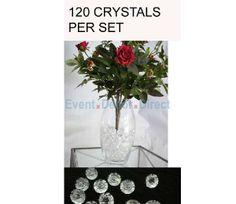 Mini Acrylic Crystal Pendants (Case of 120)