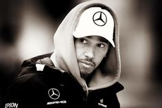 "- Clive Mason: ""- The Boxer - Lewis Hamilton of Mercedes AMG F1 was feeling the chill in Shanghai today as he…"""