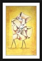Siblings - Paul Klee - Framed Canvas
