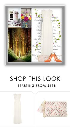 """""""boho wedding"""" by art-gives-me-life ❤ liked on Polyvore featuring IRO, Lilly Pulitzer, Gianvito Rossi, contestentry and letstalkaboutgowns"""