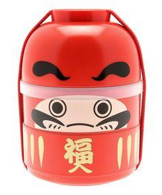 Kokeshi Daruma Bento Box