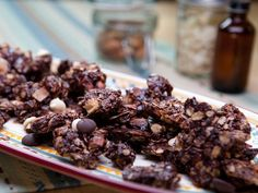 Bobby Flay's lighter Chocolate-Coconut Granola is based on his favorite candy bar, the decadent and very fattening Fran's Coconut Gold Bar.