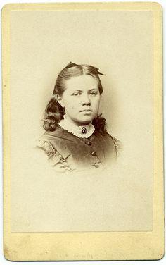 CDV Portrait of a girl - Germany - c.1870