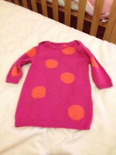 Gift from bee's friend. M&S jumper 3-6 months. Lovely with a pair of jeans.