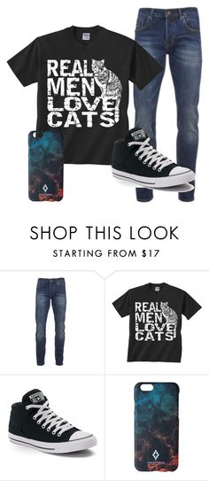 """""""mens outfit"""" by tris-prior-eaton-00 ❤ liked on Polyvore featuring Scotch & Soda, Converse, Marcelo Burlon, men's fashion and menswear"""