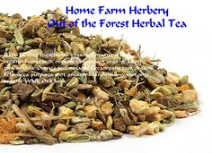 Out of the Forest Herbal Tea, Hand blended, Healthy, Order now, FREE shipping