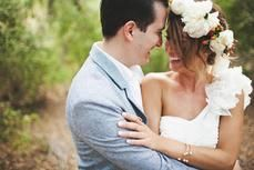 Whimsical Carlsbad Wedding Captured by Tyler Branch - Real Weddings - Loverly