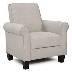 Rollx Linen Accent Chair
