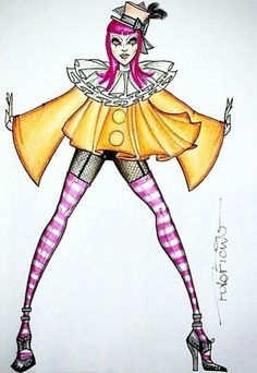 "Madonna ~ ""Tears of a Clown"" Wardrobe Design"