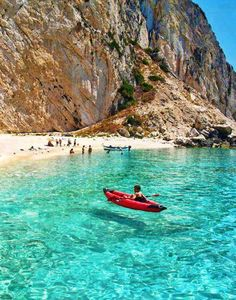 VISIT GREECE| Aspri Ammos beach in Othoni Island (Ionian Sea)