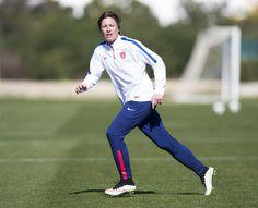 Abby Wambach, training, Algarve Cup. (U.S. Soccer)