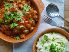 * Slow Cooker Chicken with Chorizo