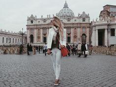 """""""Melhor energia do mundo!  #Itália #vaticano"""""""