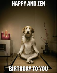 Happy and Zen Birthday to you