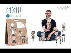 MIXIT! juguete de carton. (CartonLab + Diego Lizán) - YouTube