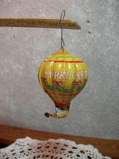 Hallmark Keepsake Ornament Tin Hot Air Balloon by MyRetroCharm, $8.95